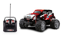 2015 new design ! 4CH 1:10 big wheels off road plastic rc petrol truck car FC118 digital PVC rc toy