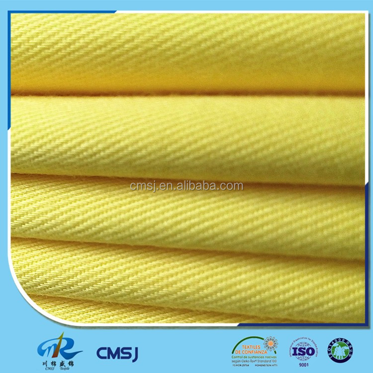 Wholesale factory stock TC drill poly cotton dyed fabric for work cloth