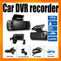 Car Camera 1080P Dual Lens Reverse camera Allwinner 9712 G-sensor Motion Detect A1