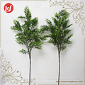 SFL93020 2017 Christmas tree decorations artificial pine tree branches fake tree trunks with dried pine fruit green plants