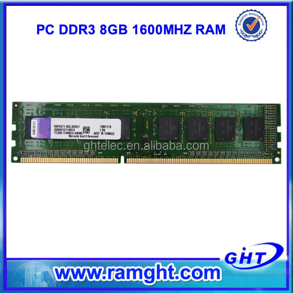French alibaba RMA less than 1% tested 8 gb ram ddr3 for desktop