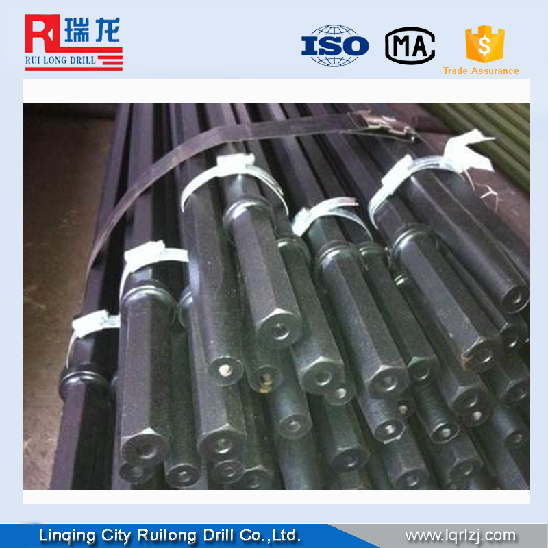 blast furnace tap hole drill rods