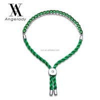 White gold played green bracelet zircon hand made women bracelet ladies fashion dressing decration
