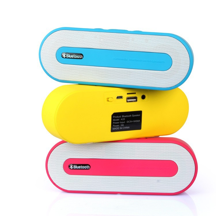 Portable Bluetooth Speaker Portable Wireless Mini Bluetooth Speaker with fm