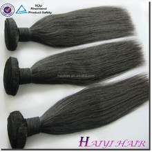 Thick ends high quality Silky Straight cheap human hair extension on sale