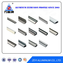 Aluminum window frame 6063 extrusion for glass