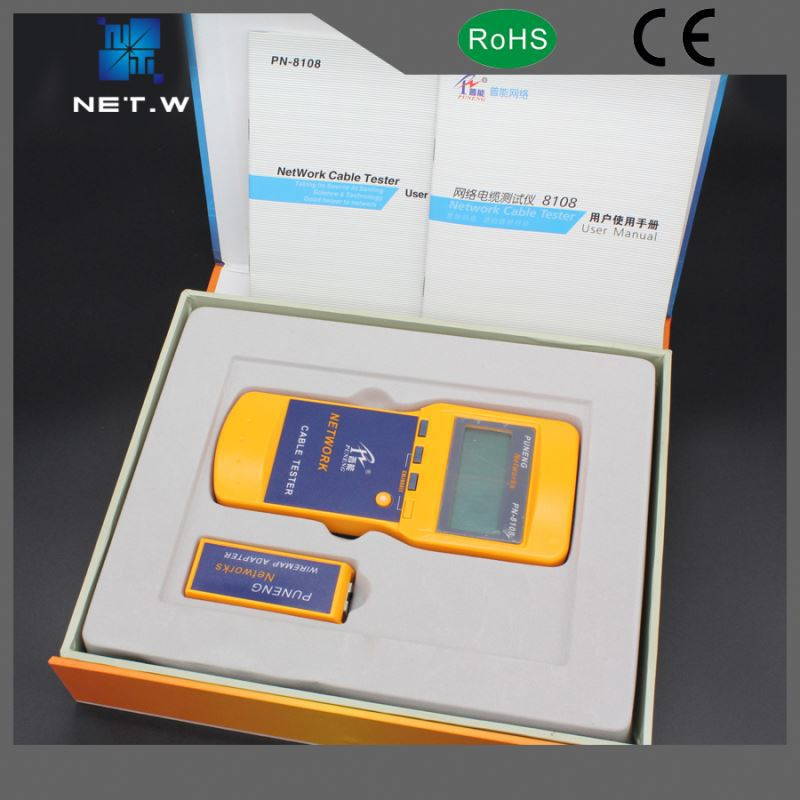 Convenient RJ45 RJ11 UTP FTP LAN network cable tester