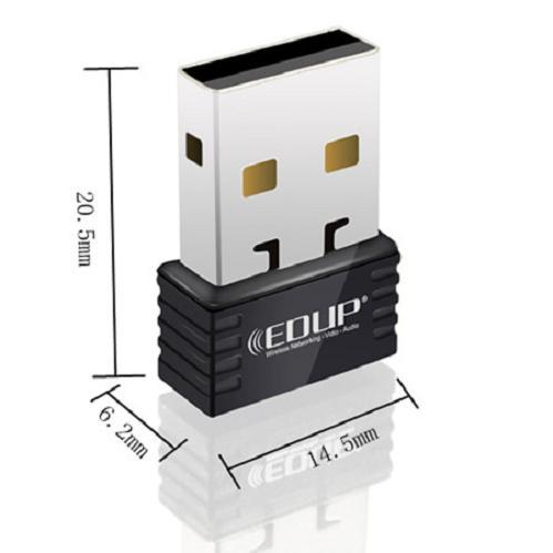 EDUP EP-N8531 Ralink RT5370 150mbps mini usb wifi wireless adapter lan network