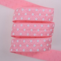 Fold Over Elastic Headbands Accept Custom