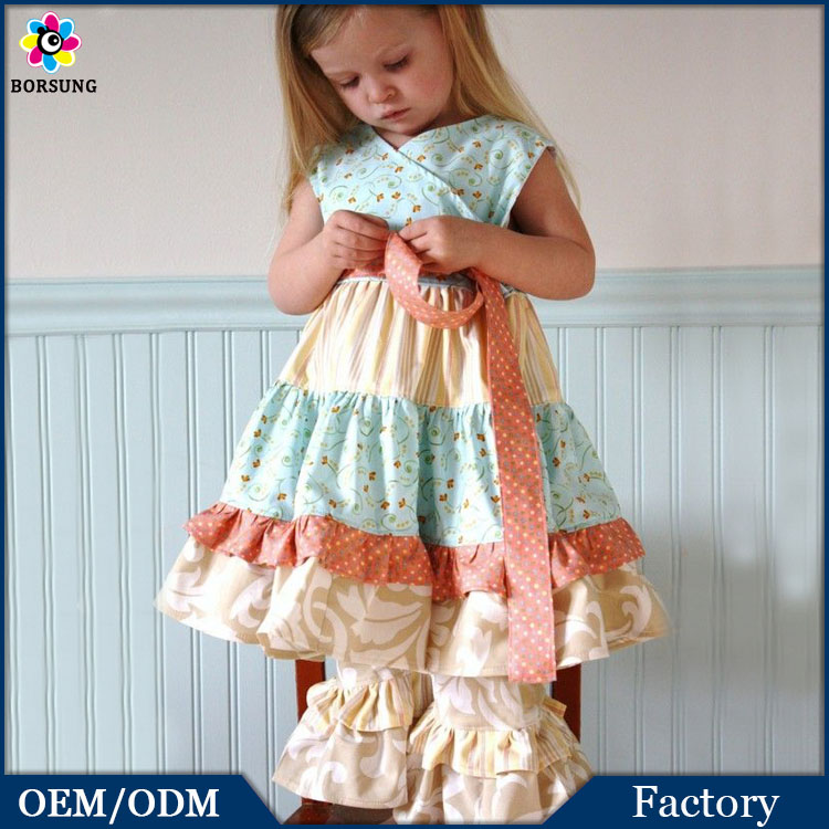 Sewing Little Girls Clothing, Boutiques Girls Clothing Outfits,Ruffles Pants Girls Clothing Sets