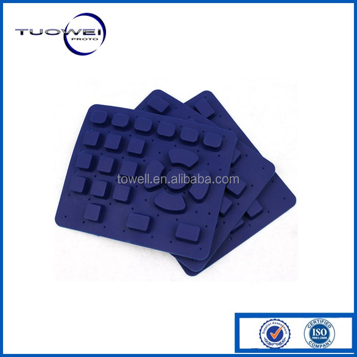 Keyboard Silicone Silicone Rubber PadMock Up