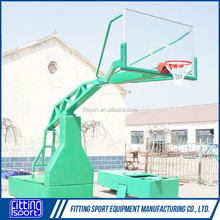 2016 New Design Manual Hydraulic Pressure Adjustable Manufacturers Basketball System/Hoop