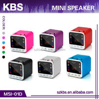 High-Quality Compatible Mobile/Computer/MP3/MP4 Digital Mini Speaker Instructions
