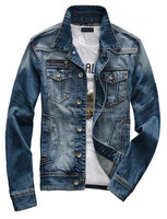 2016 New Design High Quality Fashion Jean Denim Jacket For Men