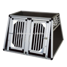2 Door Crate Portable aluminum dog car cage