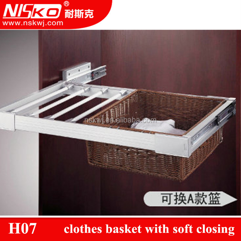 corrugated cardboard wire baskets clothes closet with soft closing