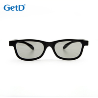 Circular Polarised 3D Glasses with higher quality + scratch resistant lenses & stronger plastic for a longer life