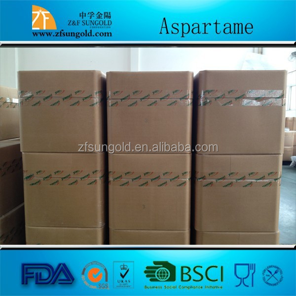 supplier China of food grade sweetener E951 FCC4 Aspartame