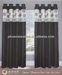 luxury fancy ready made pencil indian window curtain