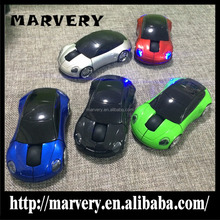 Marvery Vehicle Model Wireless Optical Car Shape USB Computer Mouse