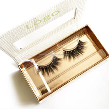 3D Mink Eyelashes Own Brand Packaging Designs Boxes with Premium Quality Handcrafted Mink Eyelashes