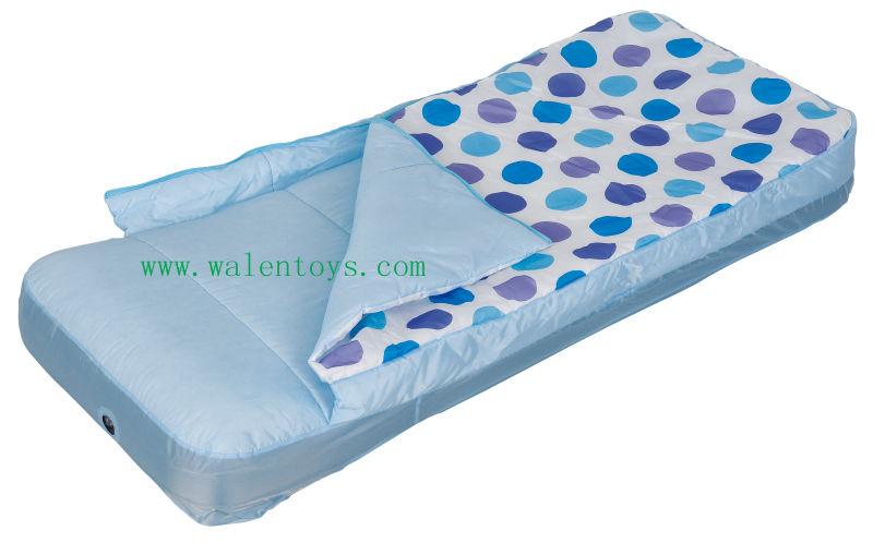New Portable Air Mattress Sleeping Bag Ready Bed Toddler