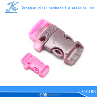 plastic side release insert whistle buckle,handbag buckle,whistle bag buckle