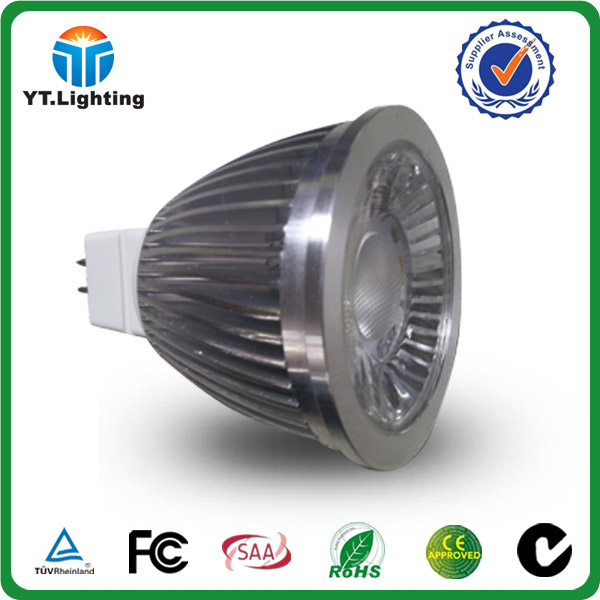 China supplier dimmable Ra 80 IC driver aluminum housing warm white outdoor led spotlight