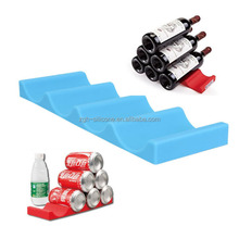 Display Stand Rack Wine Holders Shelf Silicone Bottle Holder Mat