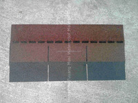 FACTORY DIRECT: BUILDING MATERIAL single layer standard Asphalt roof Shingle 100*33.3cm