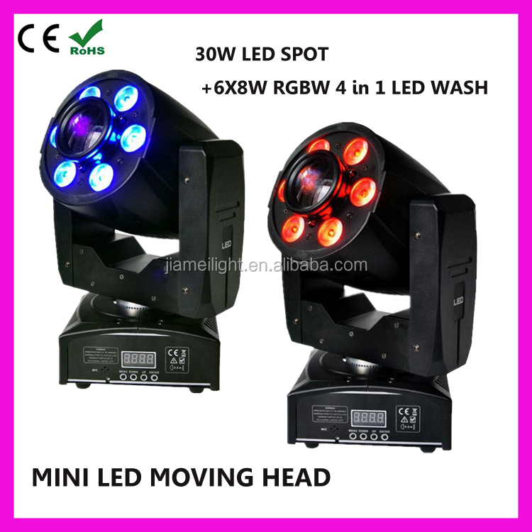 High quality gobo wheel spot 30w led profile moving head disco light