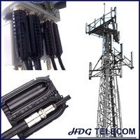 Telecom wireless base station accessories, cable hoisting grip