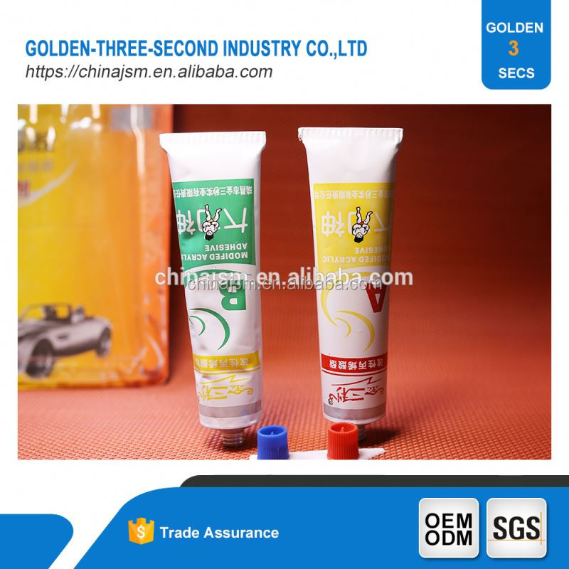 Bonding rapidly urea formaldehyde sealant powder,water epoxy acrylic glue weatherproof ab glue tube
