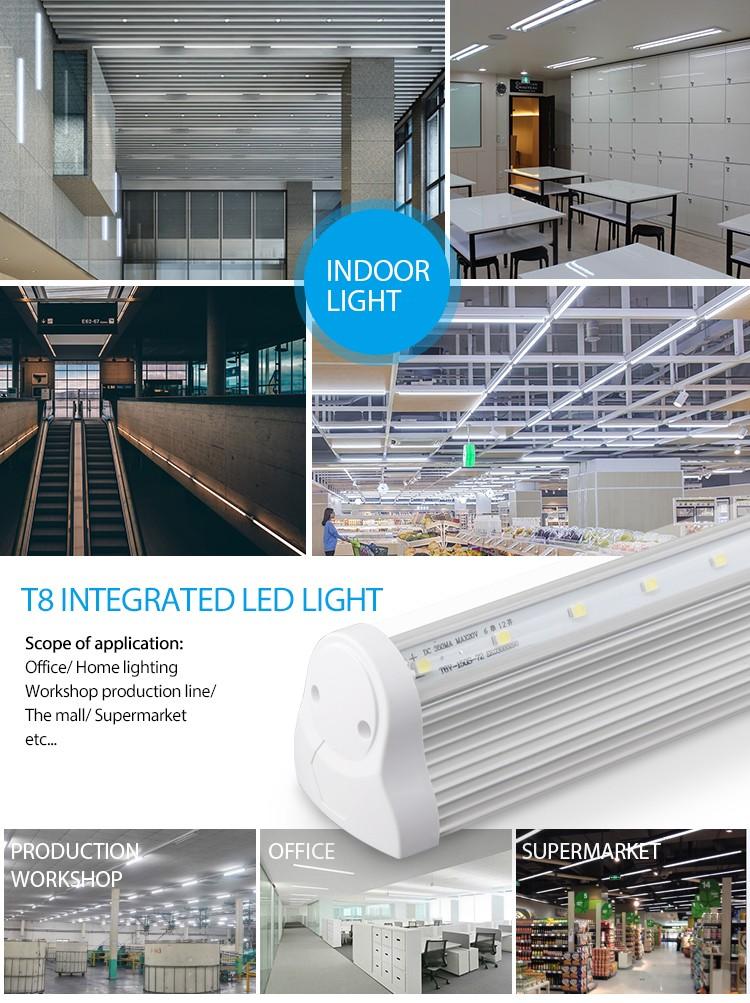 lighting fixture poland 2ft 3ft 4ft 5ft t8 led fluorescent lamp. Black Bedroom Furniture Sets. Home Design Ideas