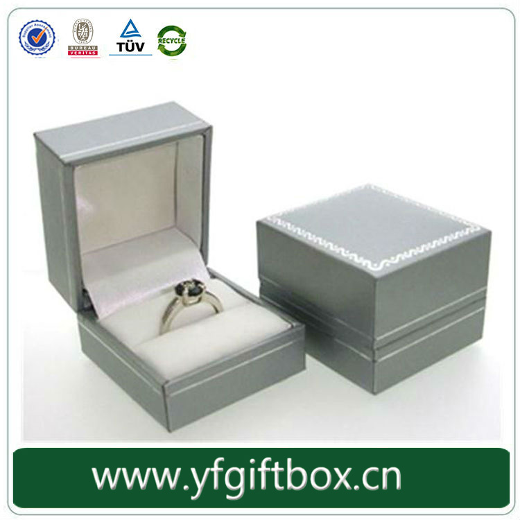 Cardboard/Paper Jewelry Boxes Material Jewelry Boxes For Rings Only