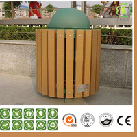 High Quality Exterior Wpc Decking Dustbin With Low Price