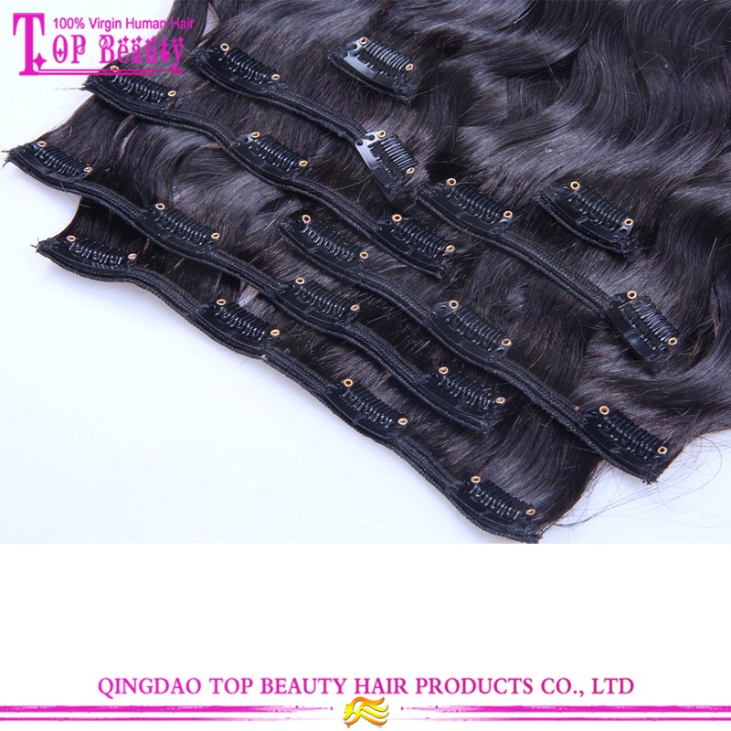 Ali Trade Assurance Paypal Accepted Tangle Free No Shedding Factory Price brazilian remy body wave clip in hair extension