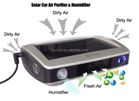Air 166 Solar PV Panel Car Air Purifier and Air Humidifier with Multi-filtration System
