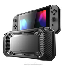 Newest Black Protective Rubberized Hard Case Cover for Nintendo Switch Console