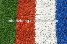 10mm artificial grass for tennis court surface coating