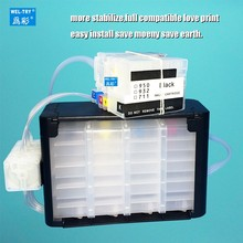 compatible for Pro HP Officejet 6100 / 6600/ 6700/7110/7612/7610/7510/7512 continuous ink supply system HP932/933 CISS