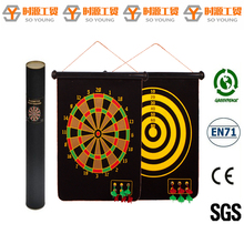 "17"" Safey magnetic dartboard for kid"