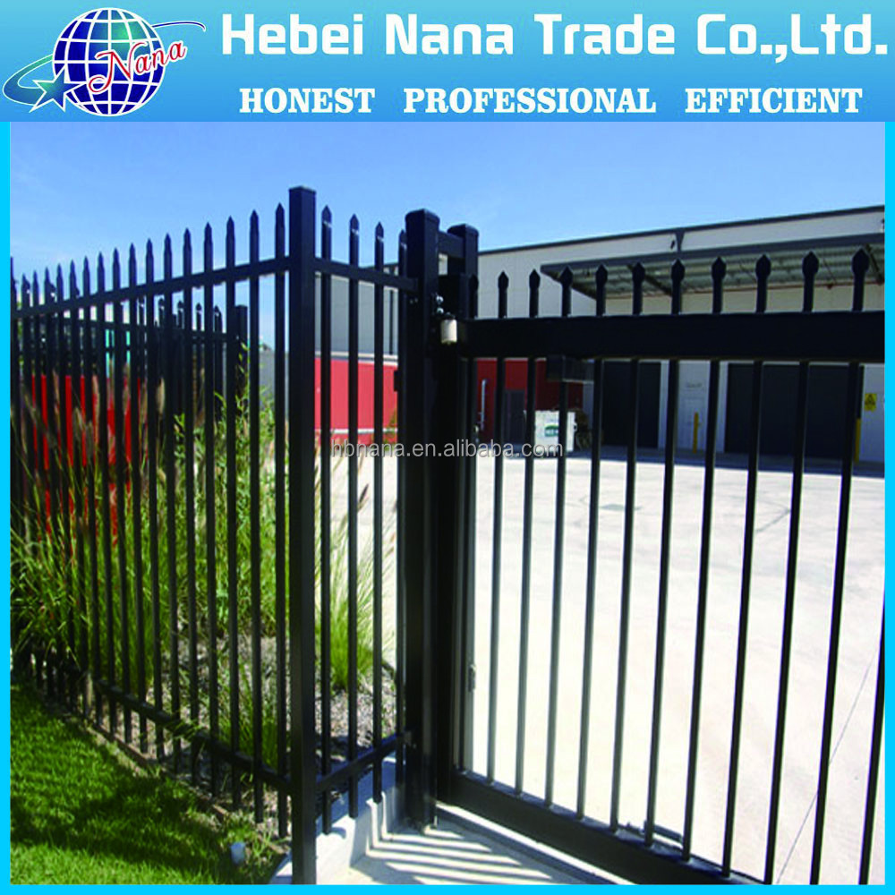 Angle Bar Fence Prefabricated Highway Metal Fence
