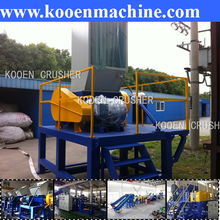 Large capacity plastic crusher supplier with ce certificate