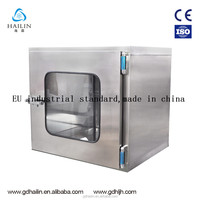 china factory price cleanroom pass box, cleanroom pass through box