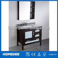 45 Inch Dark Espresso antique style bathroom vanity
