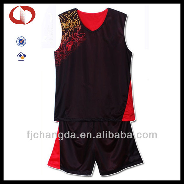 Cannda OEM wholesale reversible blank basketball jerseys