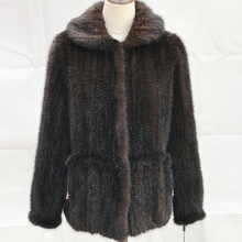 2017 winter fashion black diamond brand name fox mink fur coat and jackets of woman