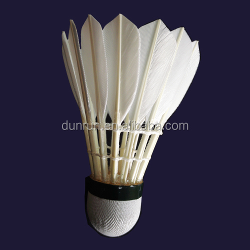 Hot Sale Durable Competetion Goose Feather Shuttlecock