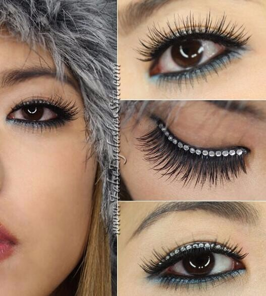 Glitter eyelashes,Eye Lash Extensions Silk Eyelashes Mascara For Eyelash
